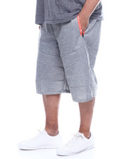 Akademiks - Podium 99 Tech Fleece Short (B&T)-2320998