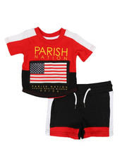 Sets - Americana Sport 2 Piece Short Set (Infant)-2318465