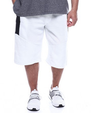 Phat Farm - Fleece Moto Jogger Shorts Wax Zipper (B&T)-2321862