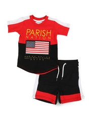 Sets - Americana Sport 2 Piece Short Set (2T-4T)-2318482