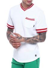 T-Shirts - TERRY VNECK SHIRT-2322057