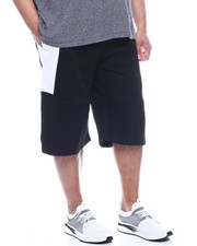 Phat Farm - Fleece Moto Jogger Shorts Wax Zipper (B&T)-2321854