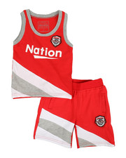 Sets - Basketball Color Block 2 Piece Set (4-7)-2318544
