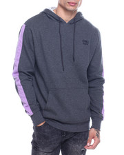Hoodies - Hoodie w Stripe Arm Detail-2322101