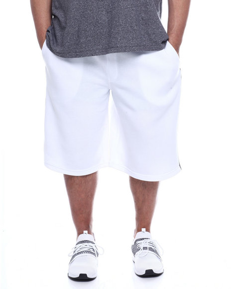 Akademiks - Barnett Satin Trimmed Knit Short (B&T)
