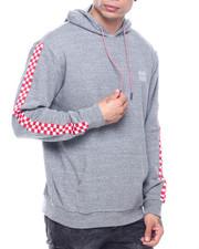 Buyers Picks - Cherckerboard Tape Sleeve Hoodie-2322111
