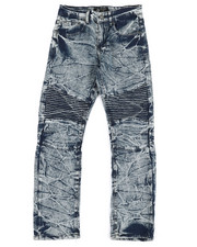 Bottoms - Stretch Moto Jeans (8-20)-2303173