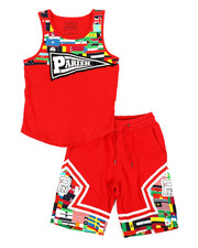 Boys - Worldwide Flags 2 Piece Set (8-20)-2318616