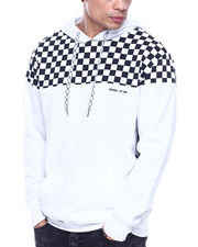 Hoodies - CHECKERBOARD CHEST HOODIE-2322081