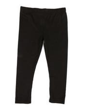 Girls - Solid Capri Leggings (4-6X)-2320404