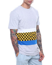 Men - TAPE CHECKERBOARD TEE-2322012