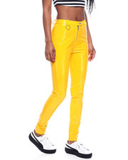 Bottoms - Vinyl Zip Front Pant-2322383