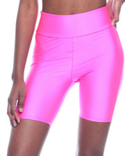 Athleisure for Women - Solid Nylon Bike Short-2319982
