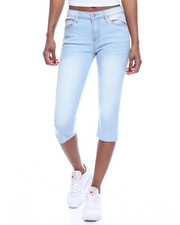 Bottoms - 5PKT Denim Capri-2322576