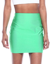 Bottoms - High Waisted Mini Skirt-2322448