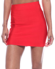 Bottoms - High Waisted Mini Skirt-2322427