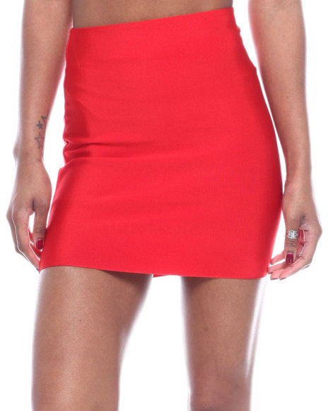 Wow Couture - High Waisted Mini Skirt