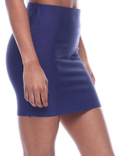 Bottoms - High Waisted Mini Skirt-2322431