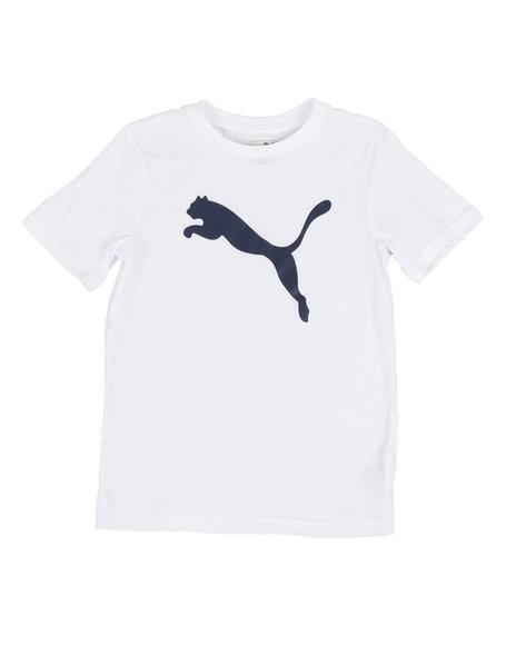 Puma - Puma Cat Logo Tee (8-20)