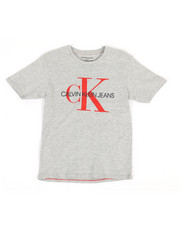 Boys - Solid Logo Crew Neck T-Shirt (8-20)-2320640