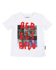 Buffalo - Crew Neck Tee W/ Digital Print (2T-4T)-2320621