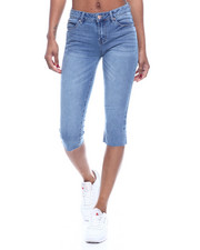 Bottoms - 5PKT Denim Capri-2322567