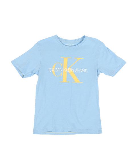 Calvin Klein - Solid Logo Crew Neck T-Shirt (8-20)