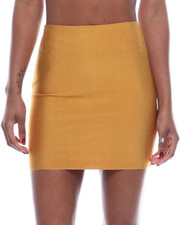 Bottoms - High Waisted Mini Skirt-2322444