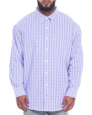 Izod - L/S Button Down Small Plaid (B&T)-2323091