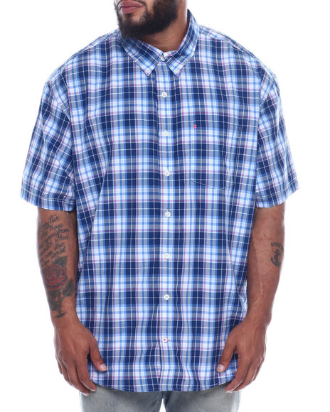 Izod - S/S Button Down Collar Woven (B&T)