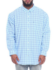 Izod - L/S Button Down Small Plaid (B&T)-2323064