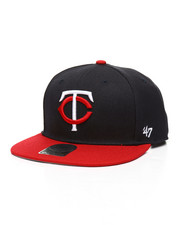 Hats - Minnesota Twins 2-Tone Snapback Hat-2319898