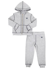 True Religion - 2 Piece Hoodie & Jogger Pants Set (2T-4T)-2321214