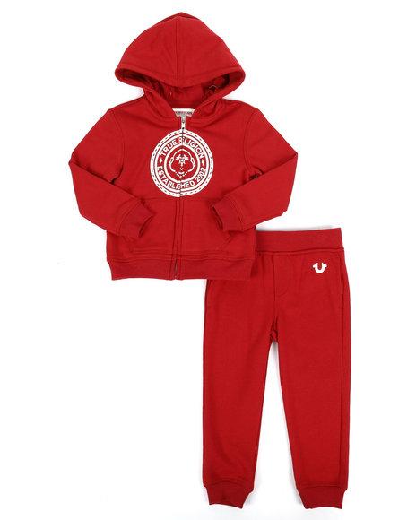 True Religion - 2 Piece Hoodie & Jogger Pants Set (2T-4T)
