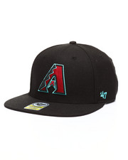 Hats - Arizona Diamondbacks Black LIL Shot 47 Captain Hat-2319894