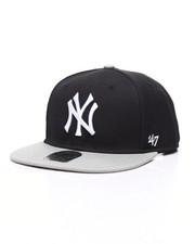 Hats - NY Yankees 2-Tone Captain Hat-2319892