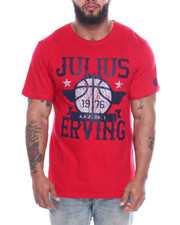 Julius Erving (DR. J) - Cotton T-Shirt Screen Printing (B&T)-2323074