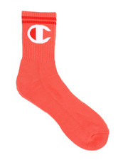 "Champion - Big ""C"" Mid-Crew Socks (Unisex) -2322217"