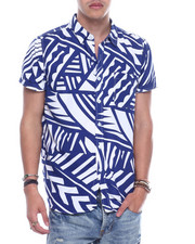 SWITCH - Abstract Print SS Woven-2323541