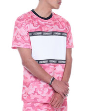 SWITCH - Mesh Camo ColorBlock Tee-2323288