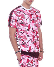 SWITCH - Camo Printed Tee-2323401