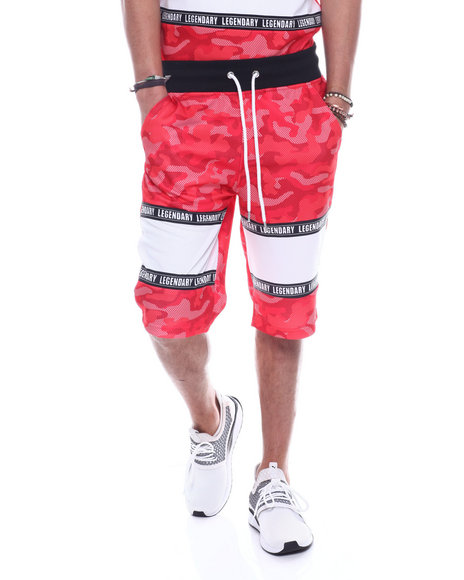 SWITCH - Mesh Camo Colorblock Short