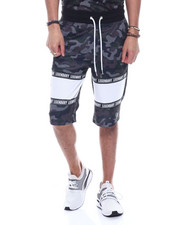 SWITCH - Mesh Camo Colorblock Short-2323680