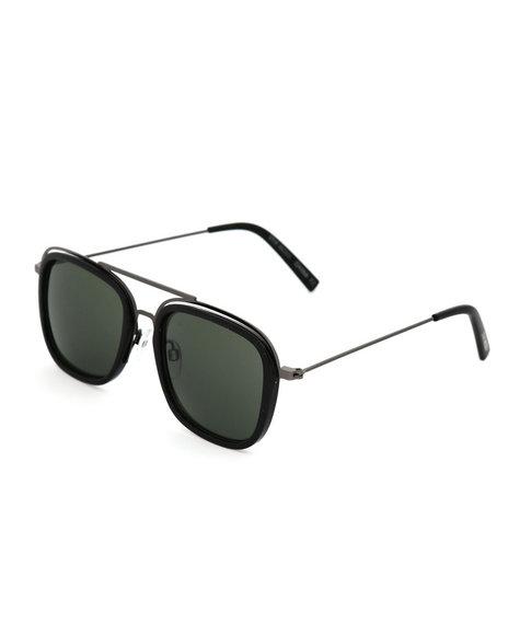 Steve Madden - Top Bar Square Aviator Sunglasses