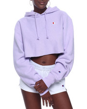 "Women - Rw Cropped Cut Off Hood Left Chest ""C"" Logo-2322789"