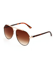 DRJ Sunglasses Shoppe - Aviator Top Bar Sunglasses-2323971