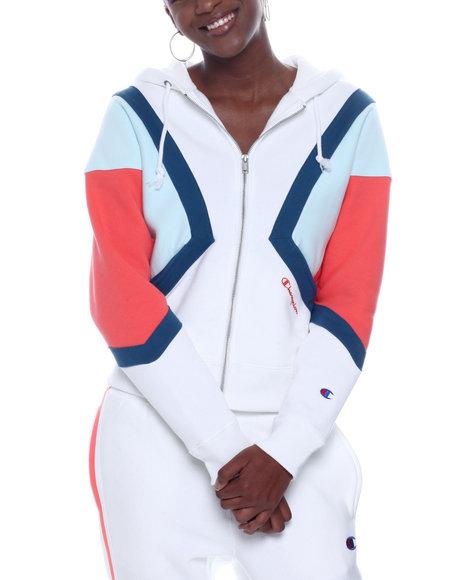 Champion - Rw Colorblock Zip Hood