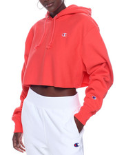 "Women - Rw Cropped Cut Off Hood Left Chest ""C"" Logo-2322794"