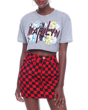Women - Marilyn S/S Cutoff Crop Tee-2322784