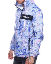 offbeat - FLORAL ALLOVER PRINT ANORAK-2324422